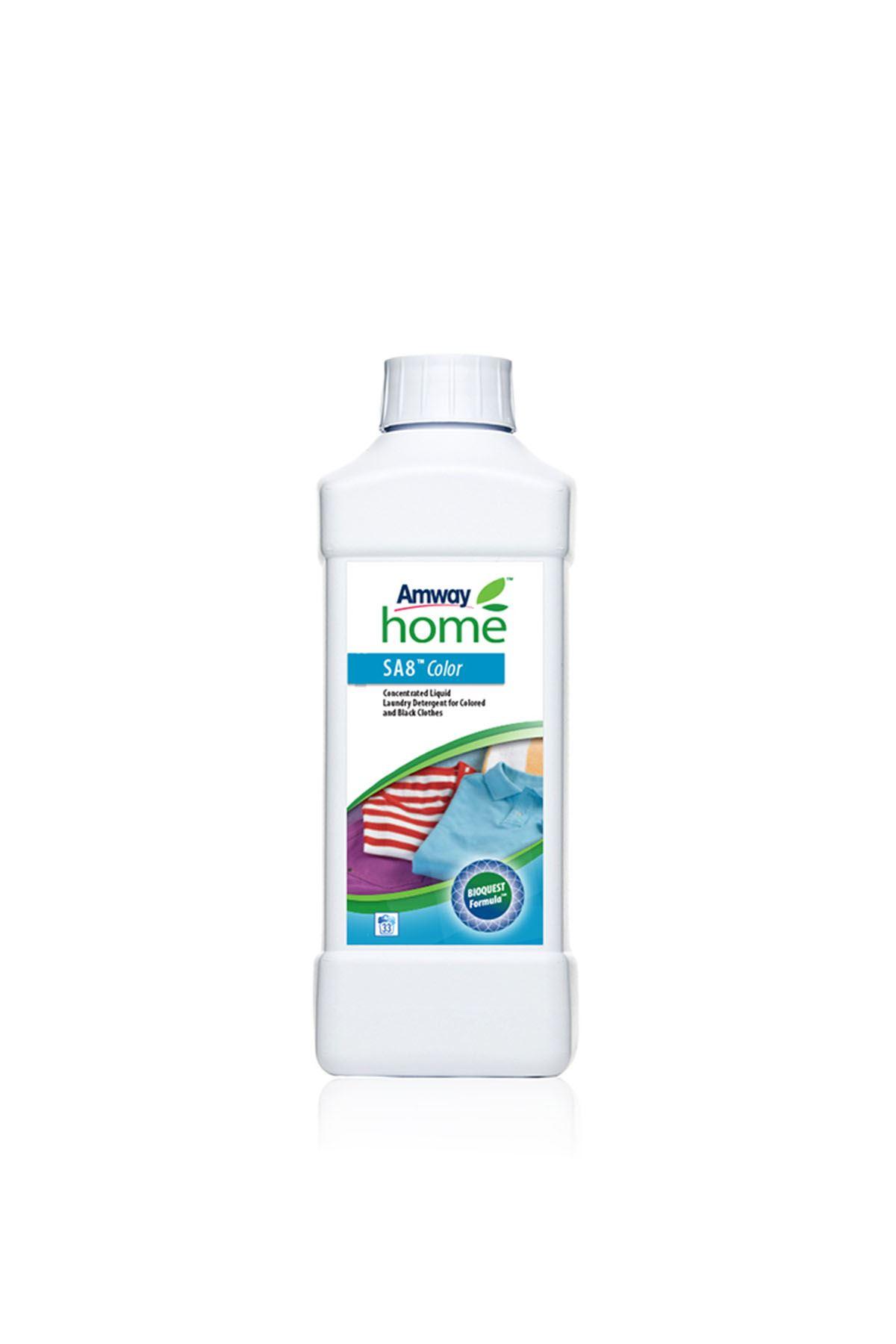Renkli ve Siyah Çamaşırlar için Konsantre Sıvı Deterjan AMWAY HOME™ SA8™ Color