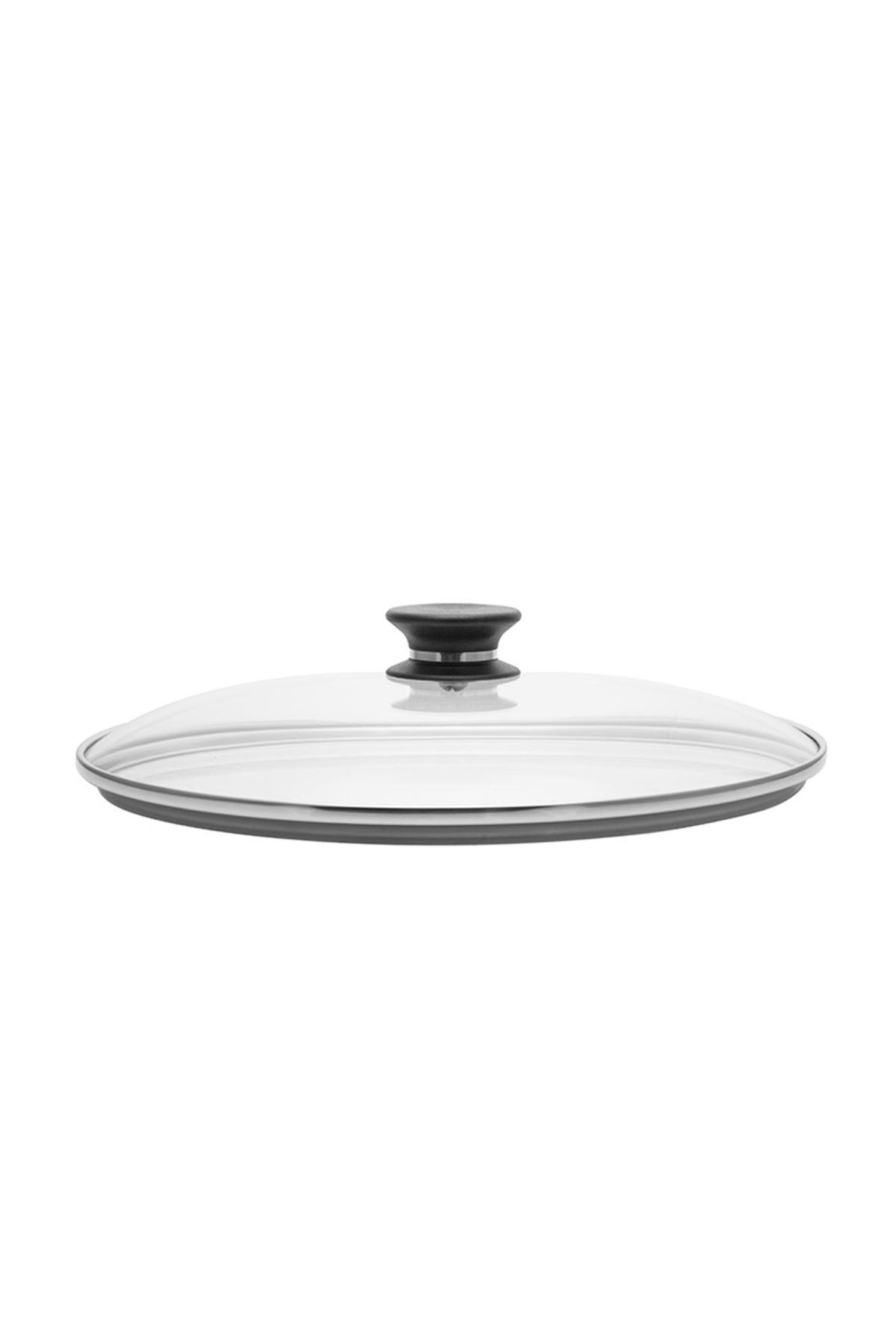 30 cm Yapışmaz Tava Cam Kapak iCook™