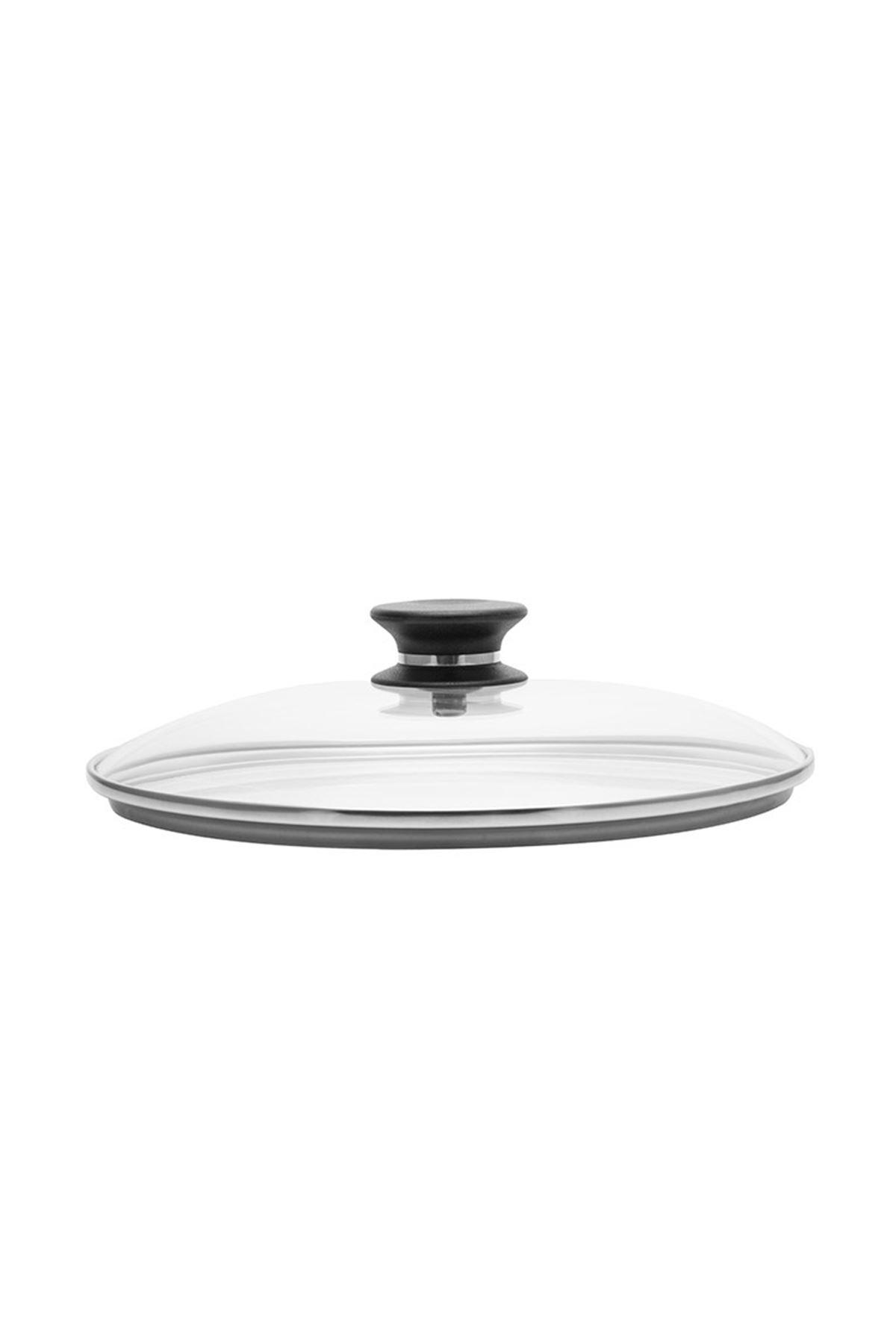 25 cm Yapışmaz Tava Cam Kapak iCook™