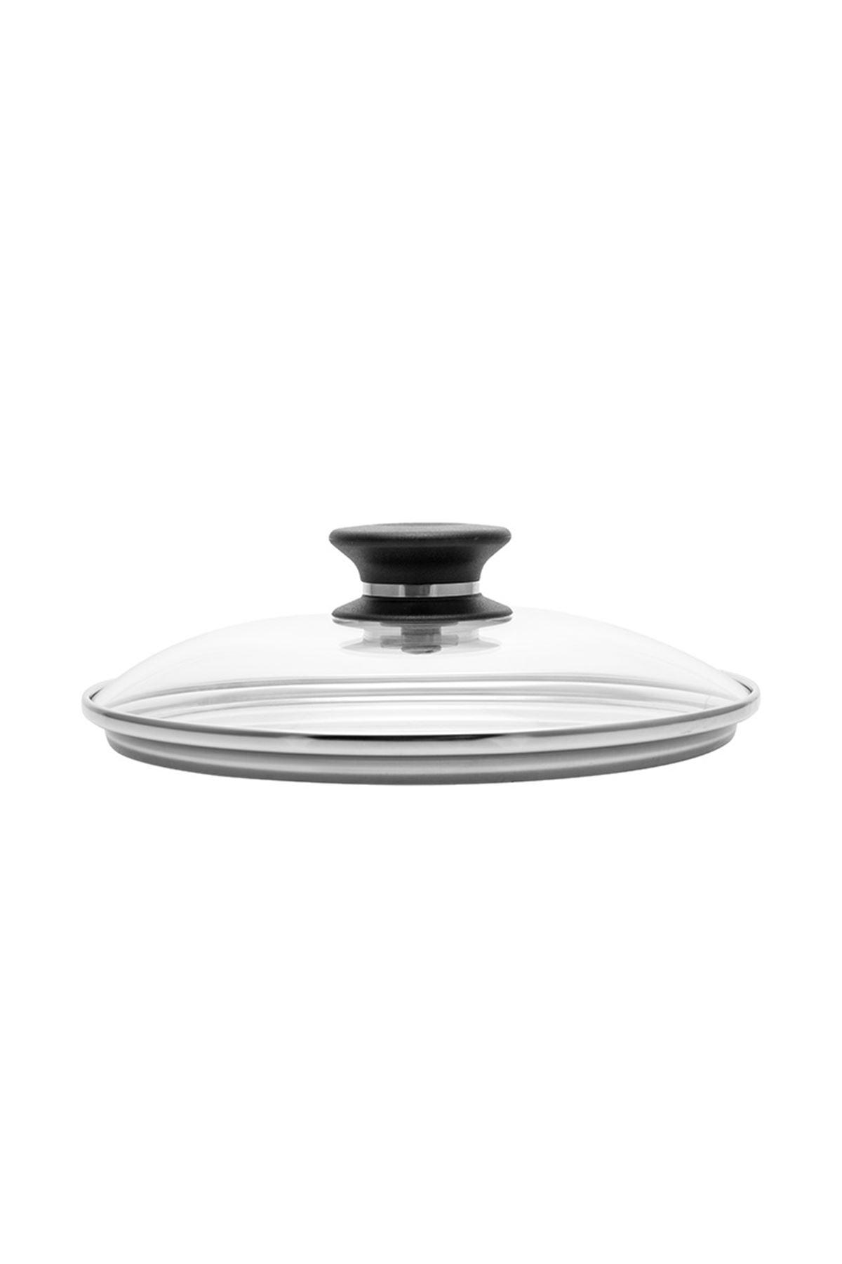 20 cm Yapışmaz Tava Cam Kapak iCook™