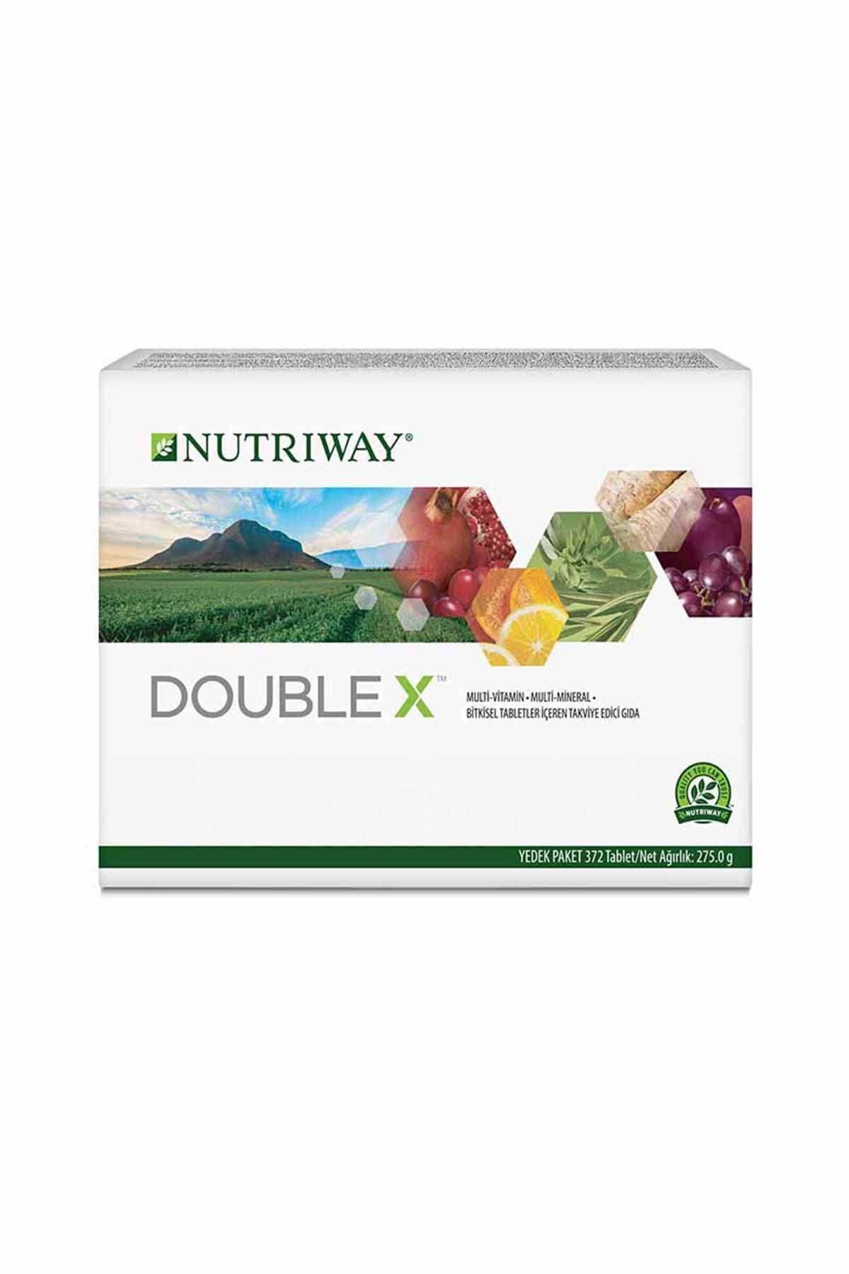 Double X Yedek Paket (62 günlük yedek ürün) NUTRIWAY™