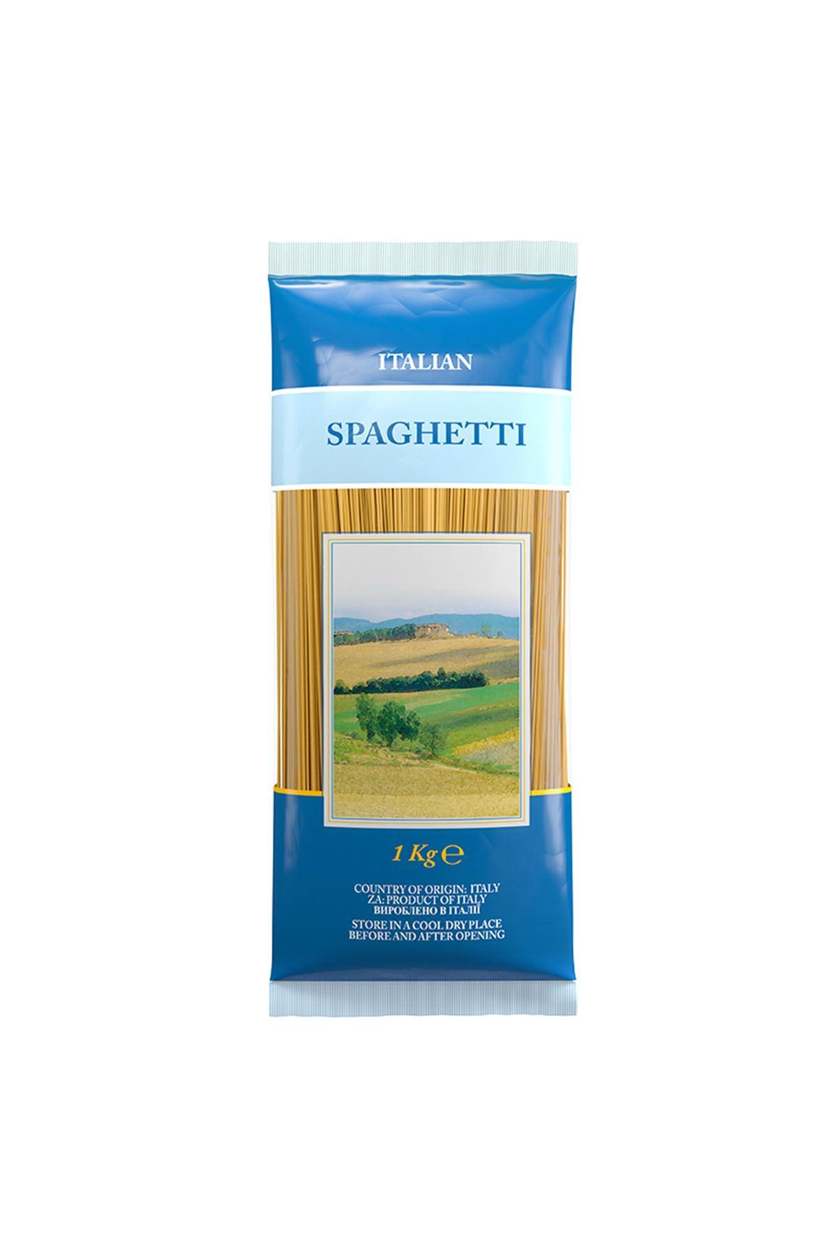 İtalyan Makarnası-Spaghetti