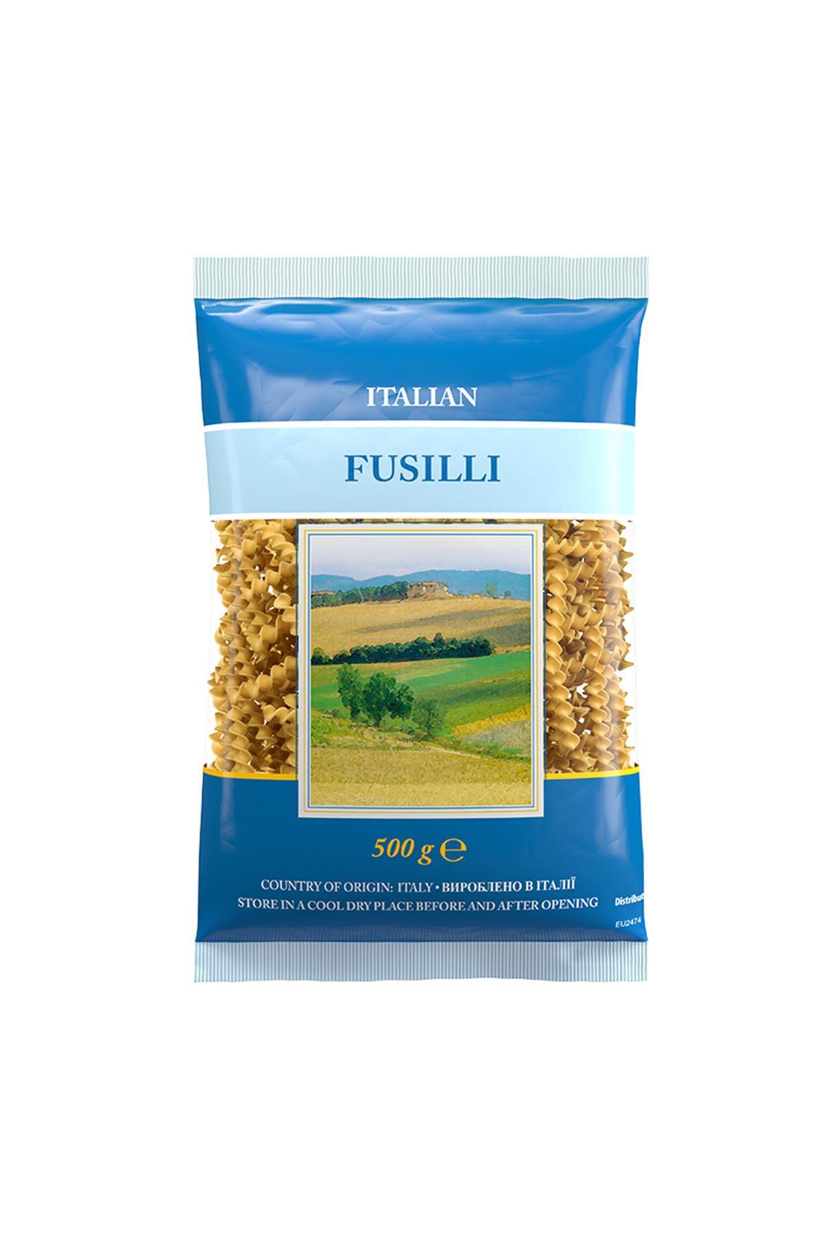 İtalyan Makarnası-Fusilli