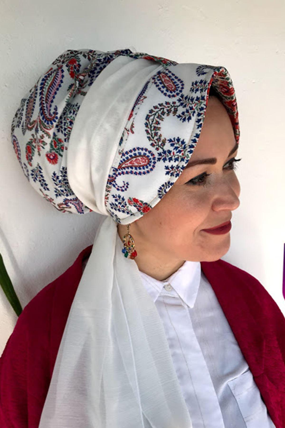 Beyaz Siperli Şapka